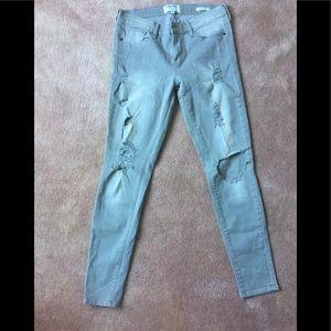 Frame gray jean 29